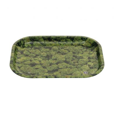 🧐 Buds Small Metal Rolling Tray Smartific 777791173342