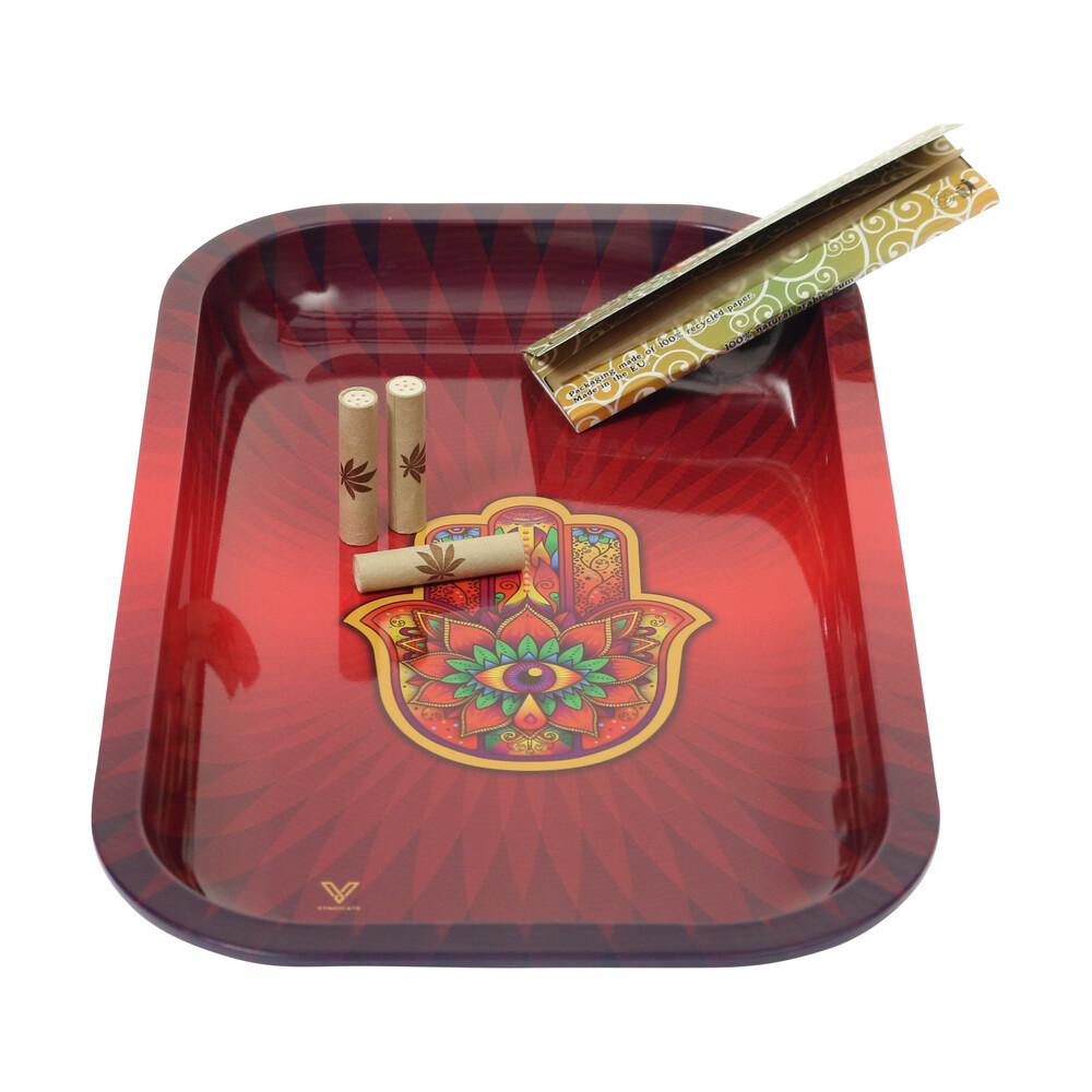 🧐 Hamsa Large Metal Rolling Tray Smartific 777791173434