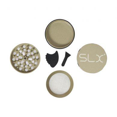 🧐 Ceramic Coated Non-Stick Champagne SLX Grinder Smartific 8718053635590
