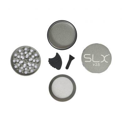 🧐 Ceramic Coated Non-Stick Silver SLX Grinder Smartific 8718053635637