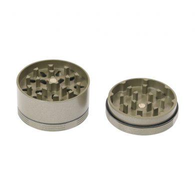 🧐 Ceramic Coated Non-Stick Champagne Gold Small SLX Grinder Smartific 8718053635651