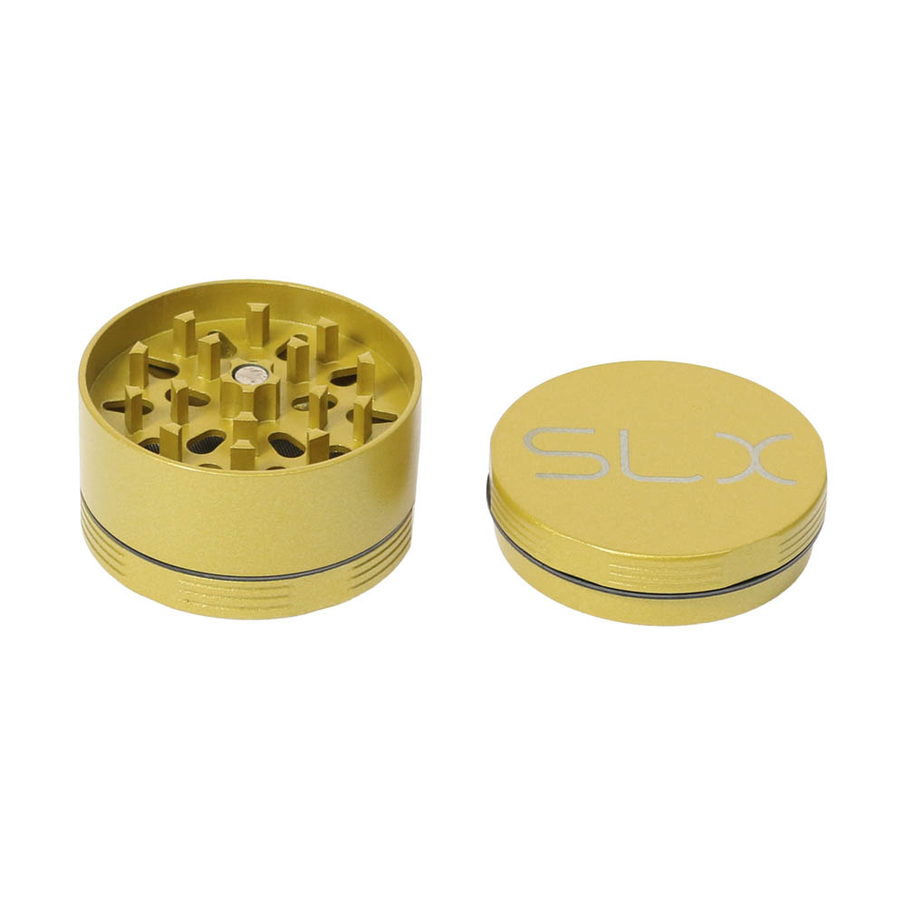 🧐 Ceramic Coated Non-Stick Yellow Small SLX Grinder Smartific 8718053635705