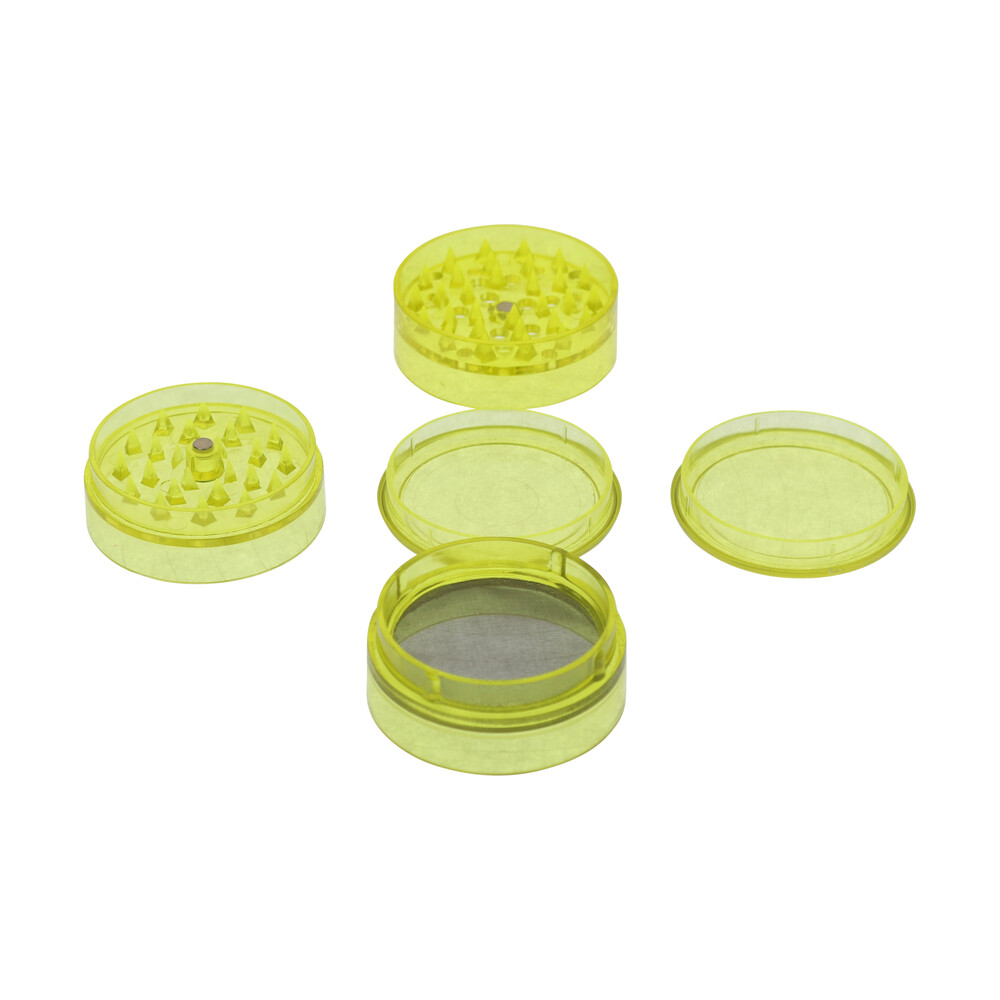 🧐 Acrylic 5 Part Yellow Grinder Smartific 8718053639345