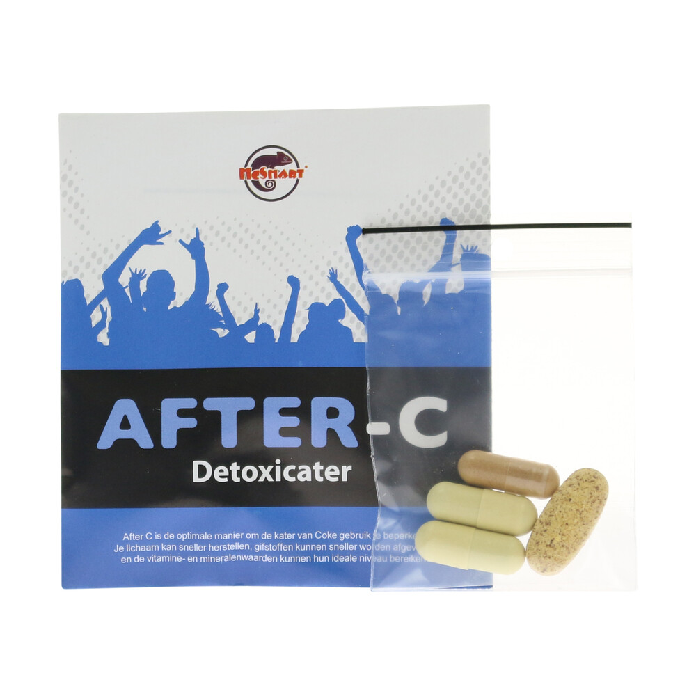 💊 Fast Afterparty Recovery After C Capsules Smartific 8718274710564