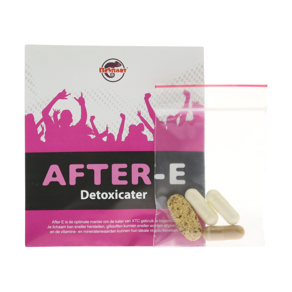 💊 Fast Afterparty Recovery After E Capsules Smartific 8718274710571
