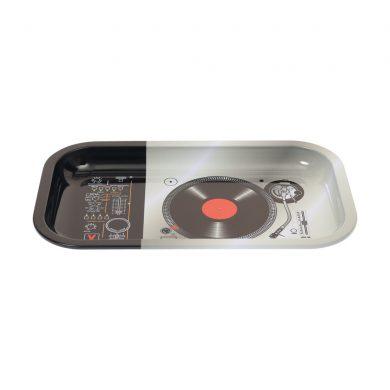 🧐 DJ Turntable Large Metal Rolling Tray Smartific 8718274713510