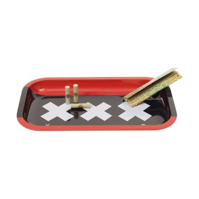 🧐 Amsterdam XXX Large Metal Rolling Tray Smartific 8718274713572
