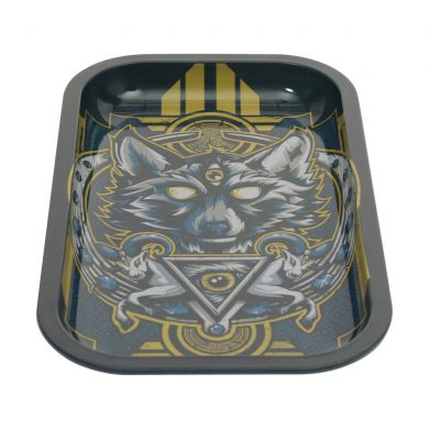 🧐 Wolf Large Metal Rolling Tray Smartific 8718274714609