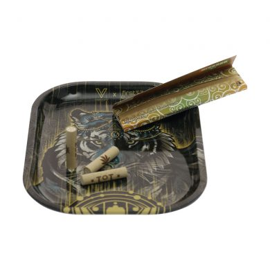 🧐 Tiger Small Metal Rolling Tray Smartific 8718274714623