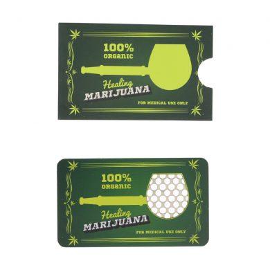 ? Marijuana Credit Card Grinder Smartific 2900075