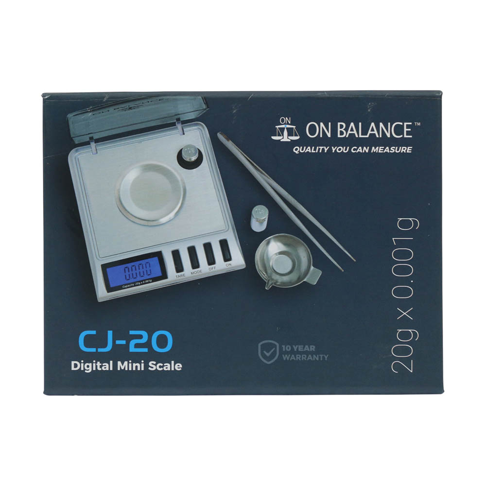 🧐 Scale On Balance Milligrams (20g x 0.001g) Smartific 5060347971161