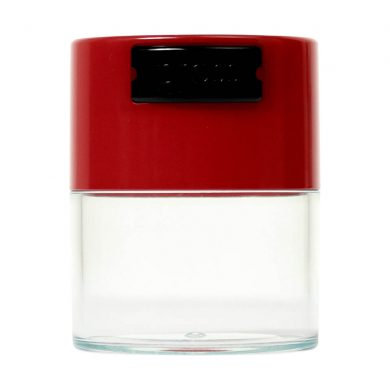 🧐 Small Tightvac Stashbox Clear With Red Cap Smartific 6094654096650