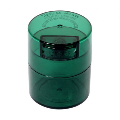 ? Small Tightvac Stashbox Green Tint With Green Cap Smartific 609465409719