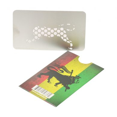 🧐 Rasta Lion Credit Card Grinder Smartific 640522647361