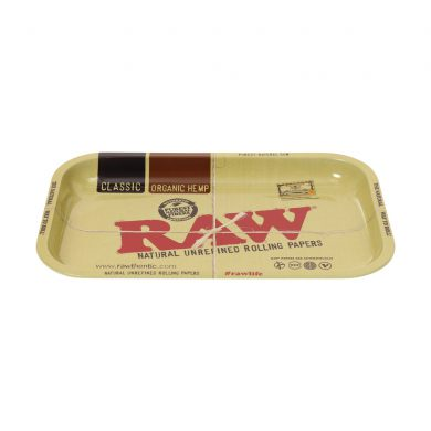 🧐 Raw Classic Small Metal Rolling Tray Smartific 716165154457