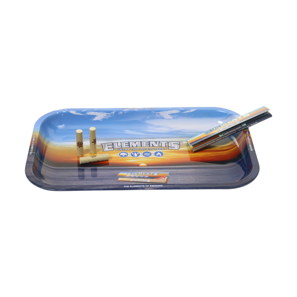 🧐 Elements Small Metal Rolling Tray Smartific 716165154488