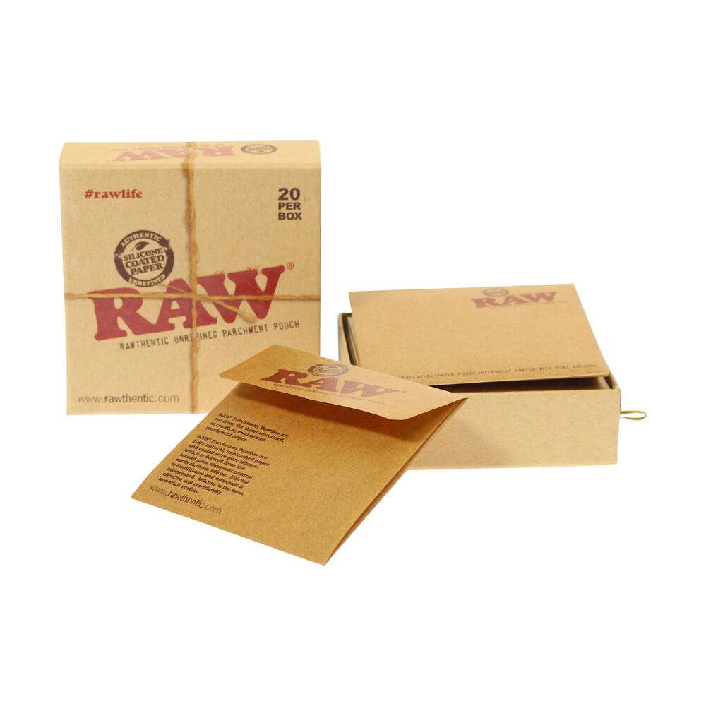 💨 Raw Unrefined Parchment Pouches Smartific 716165157267