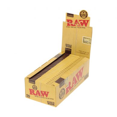 💨 Raw Classic Single Wide Rolling Papers Smartific 716165173670