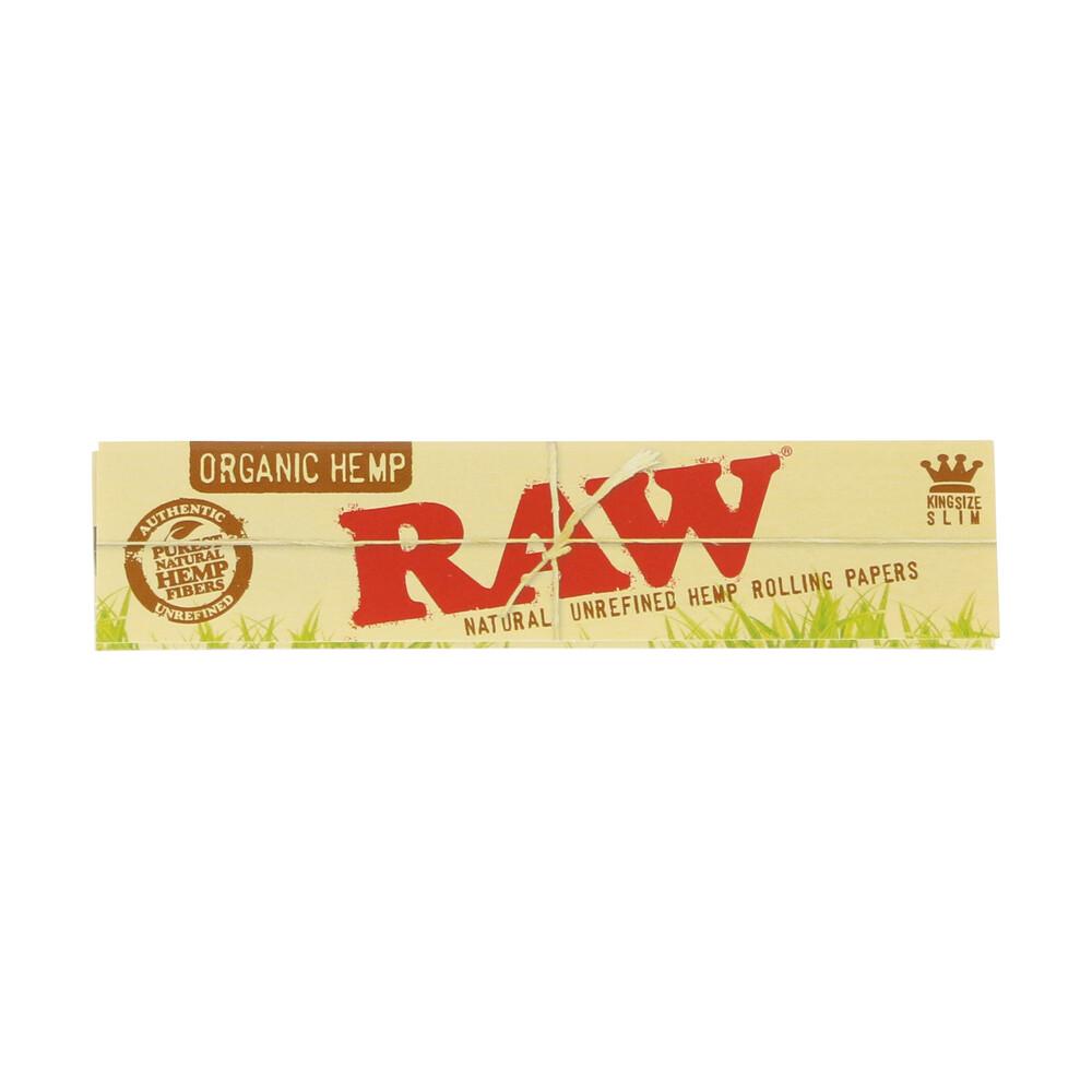 💨 Raw Organic Hemp King Size Slim Rolling Papers Smartific 716165174226