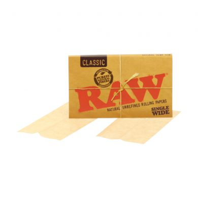 💨 Raw Classic Single Wide Double Rolling Papers Smartific 716165174240