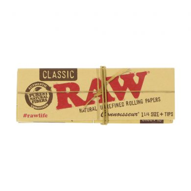 💨 Raw Classic Connoisseur 1¼ Rolling Papers and Tips Smartific 716165176114