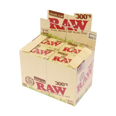 💨 Raw 300's Organic Hemp 1¼ Rolling Papers Smartific 716165177173