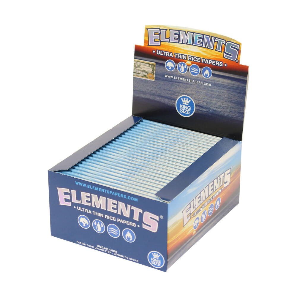 💨 Elements King Size Thin Rolling Papers Smartific 716165177814