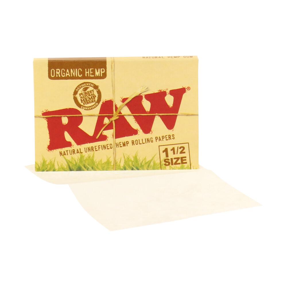 💨 Raw Organic Hemp 1½ Rolling Papers Smartific 716165179221