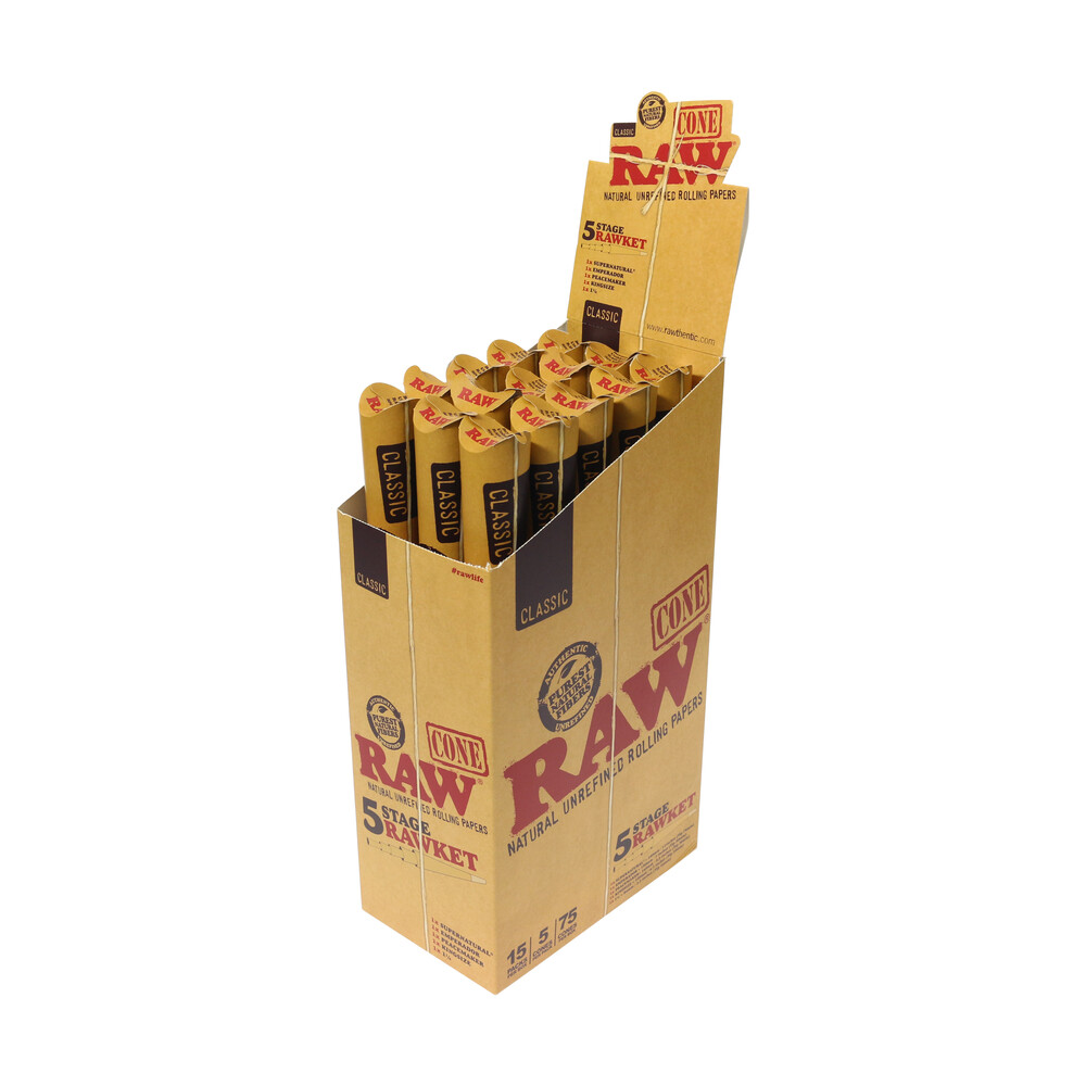 💨 Raw Classic Cone Party Rawket Pack Smartific 7161652023943