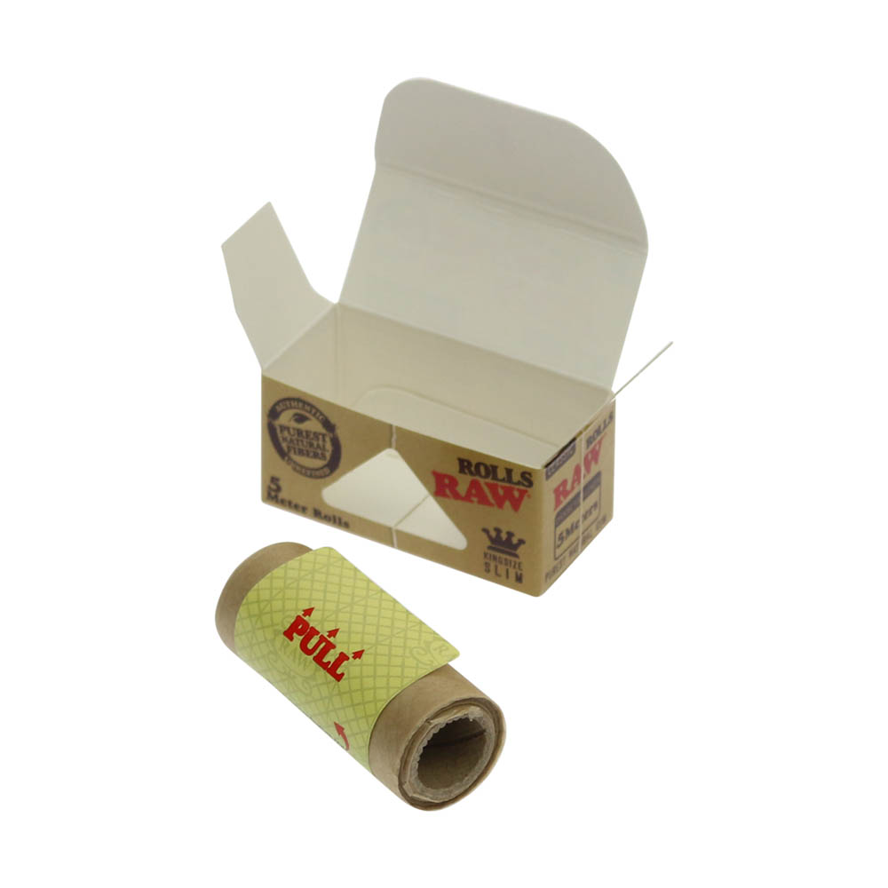💨 Raw Classic Rolls King Size Slim 5m Rolling Papers Smartific 716165250142