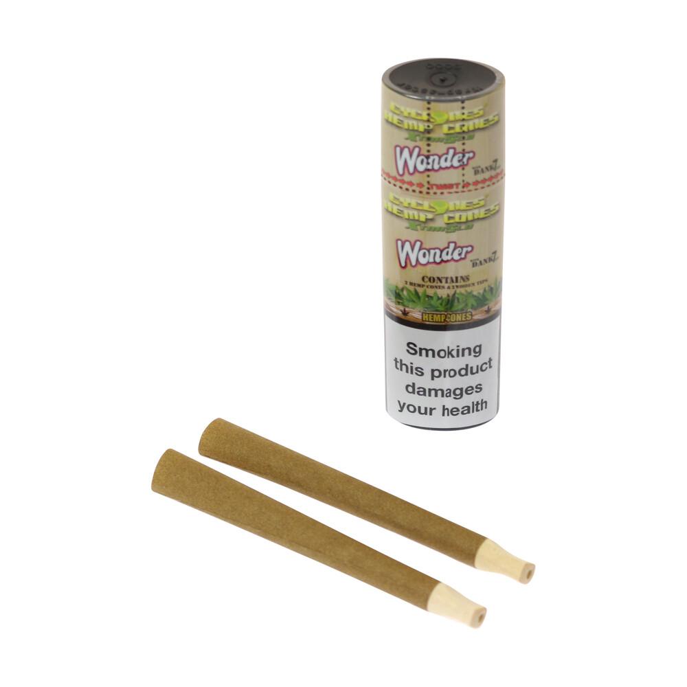 💨 Cyclones Hemp Wonderberry Prerolled Blunt Cones Smartific 716165250623