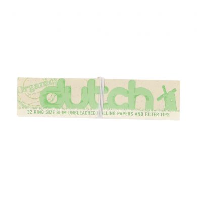 💨 Dutch King Size Unbleached Papers with Tips Smartific 7201510175117