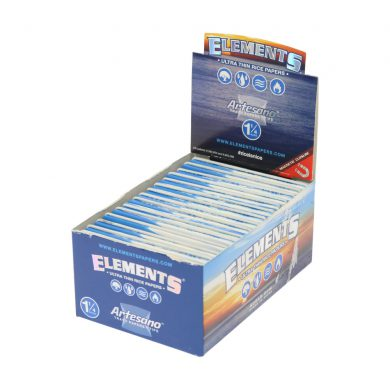 💨 Elements Artesano Rolling Papers with Tips and Tray Smartific 7716165178903