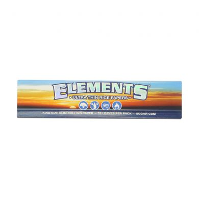 ? Elements King Size Slim Thin Rolling Papers Smartific 716165177784