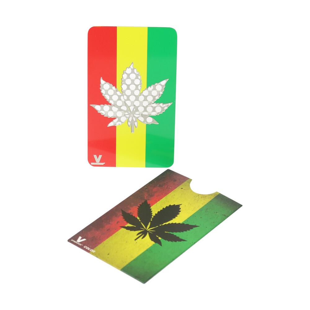 🧐 Rasta Leaf Credit Card Grinder Smartific 777791173779