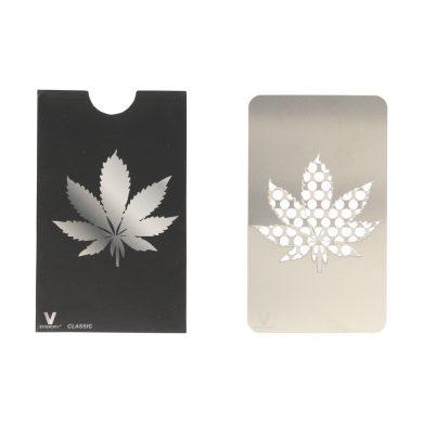 ? Silver Leaf Credit Card Grinder Smartific 799804086388