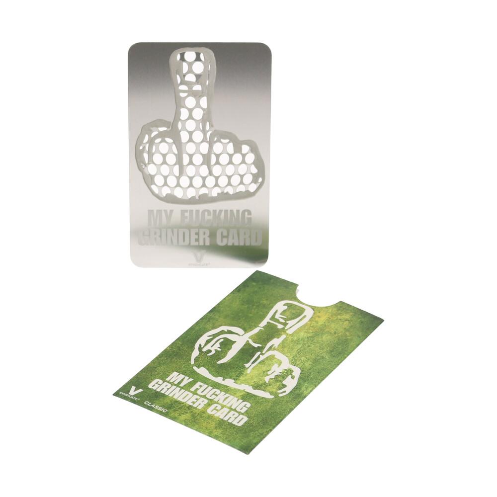 🧐 Middle Finger Credit Card Grinder Smartific 799804086524