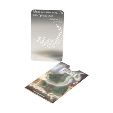 🧐 Cheshire Cat - Alice in Grinderland Credit Card Grinder Smartific 799804086609