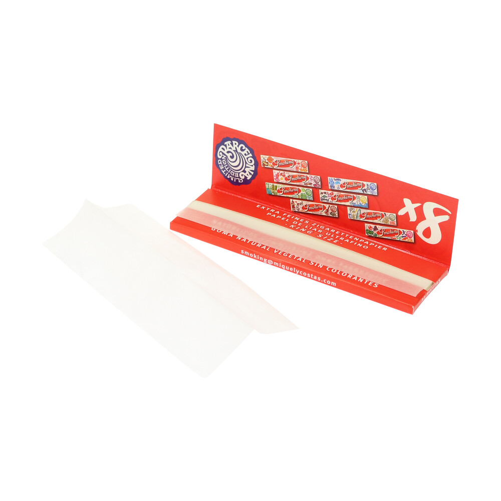 💨 Smoking Red King Size Rolling Papers Smartific 8414775011024