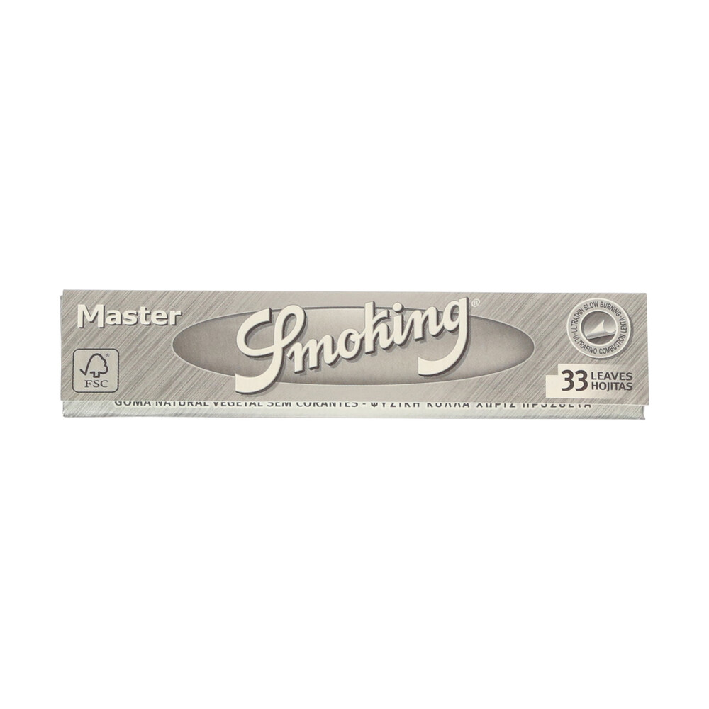 💨 Smoking Master Silver King Size Rolling Papers Smartific 8414775011680