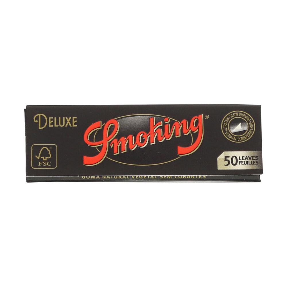 💨 Smoking Deluxe Black Medium 1¼ Rolling Papers Smartific 84190819