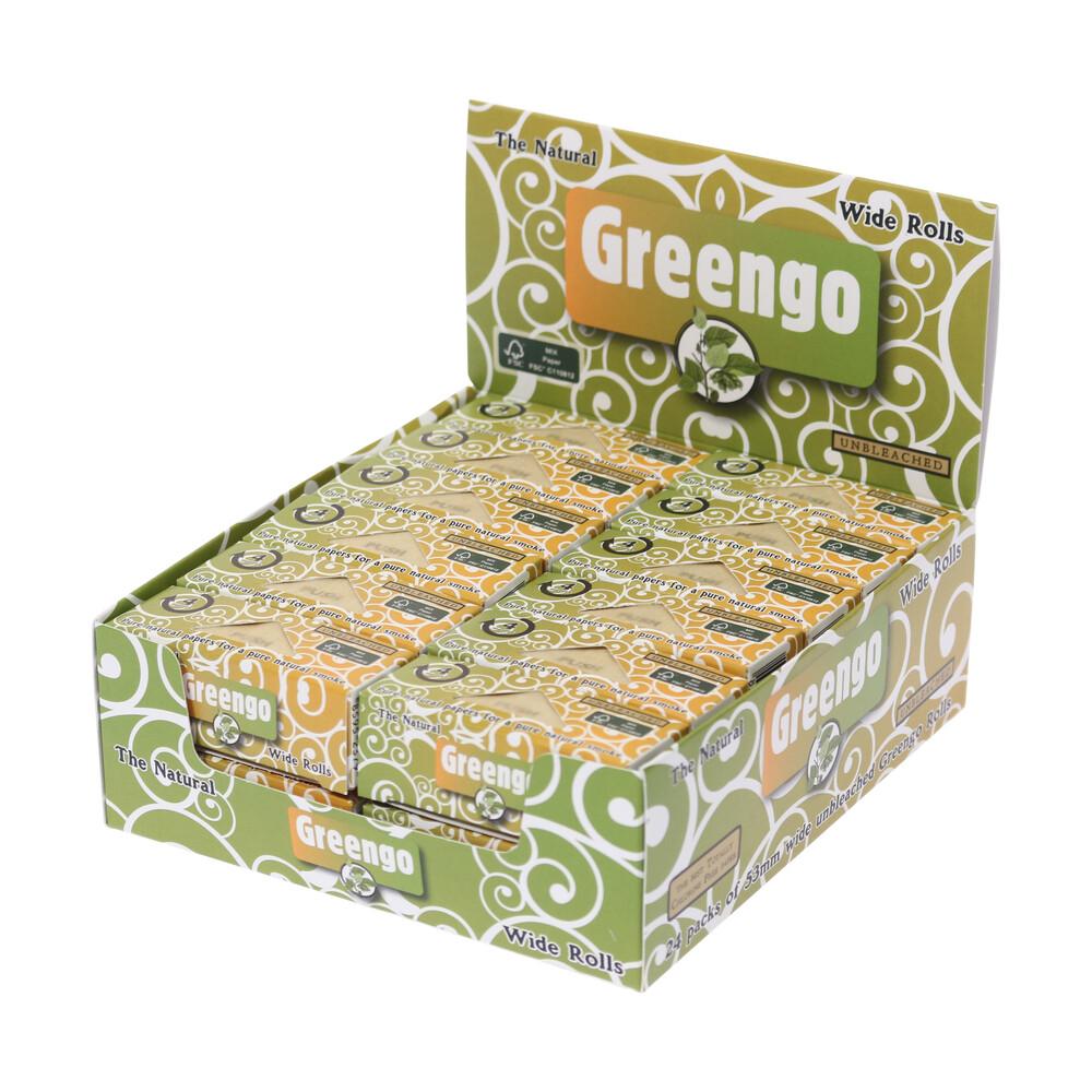 💨 Greengo Unbleached Wide Rolls Smartific 8595134501292