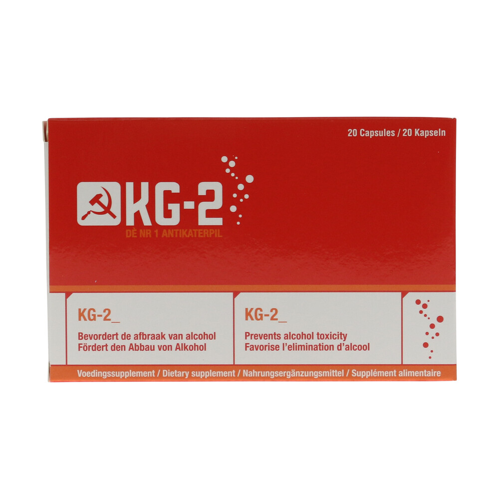 🧐 KG-2 Hangover Cure Smartific 8717344170239
