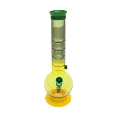 🧐 Medium Acrylic Rasta Bong Smartific 8718053625881