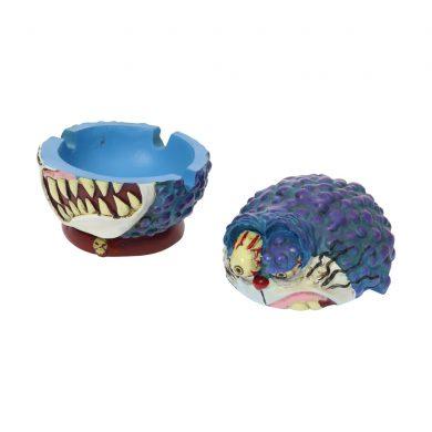🧐 Monster Cat Blue Ashtray Smartific 8718053639710