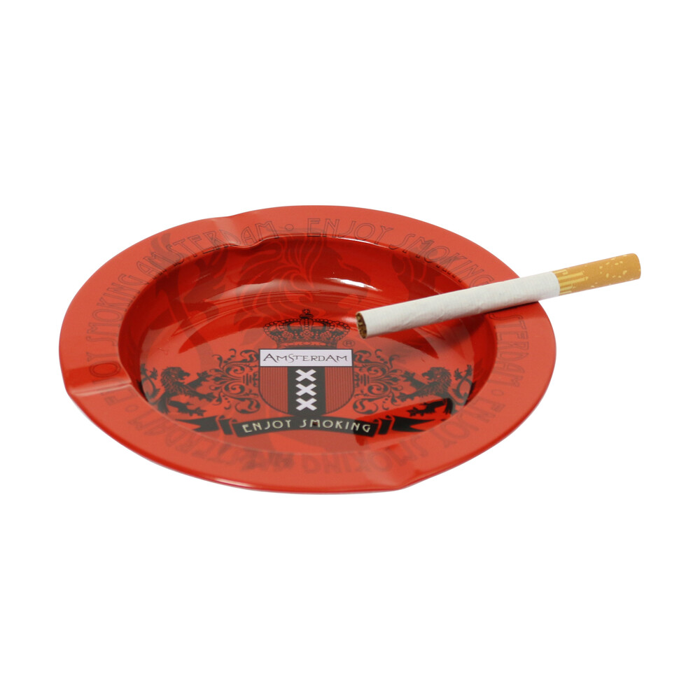 🧐 Metal Amsterdam Ashtray Smartific 8718053643106