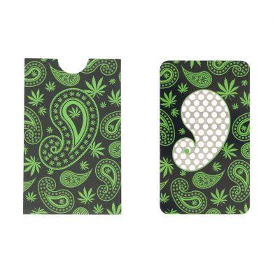 ? Paisley Weed Credit Card Grinder Smartific 8718274713183