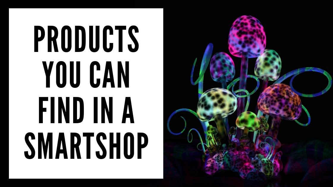 Products you can find in Amsterdam smartshop smartific online webshop