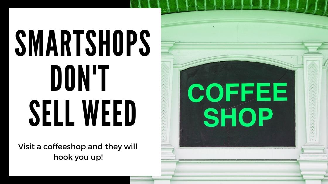 Does Amsterdam smartshops sell weed and cannabis? smartific online webshop answer