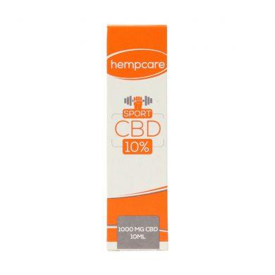 Hempcare 10% CBD oil for sport (10 ml) Smartific.com 8718274713640